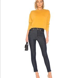 NWT AGOLDE Roxanne Super High Rise Skinny Jeans